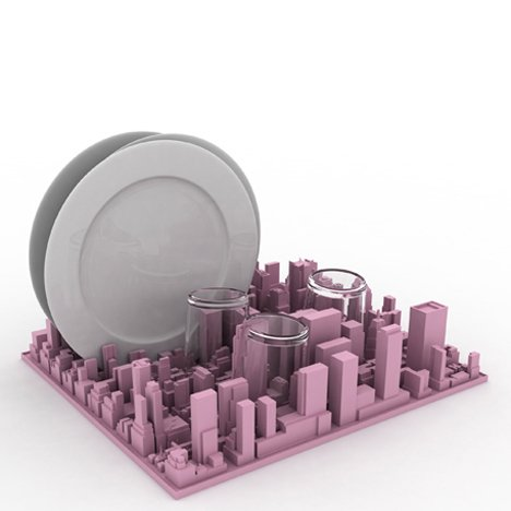Inception dish rack by Luca Nichetto for Seletti