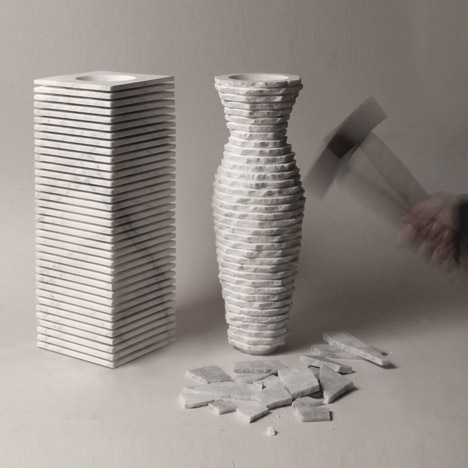 Introverso 2 Vase by Paolo Ulian and Moreno Ratti