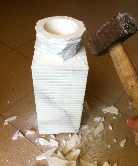 Introverso 2 Vase by Paolo Ulian and Moreno Ratti