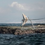 Kinetic Iris structures would generate wave power along the Beirut shoreline