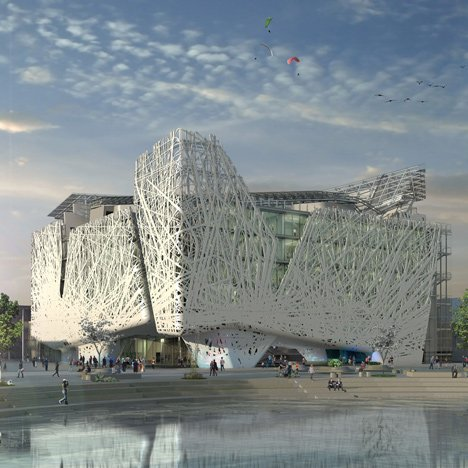 "Italy unveils permanent Milan Expo pavilion that will ""purify the atmosphere from smog"""