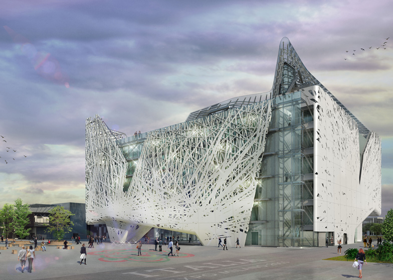 Italy's Milan expo pavilion by Nemesi&Partners