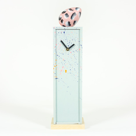 Omkompositioner clock by Jenny Nordberg