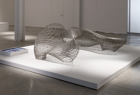 Joris Laarman Lab 3D printed dragon chair