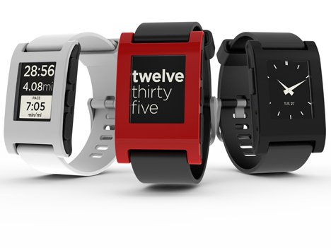 Kickstarter Pebble watch