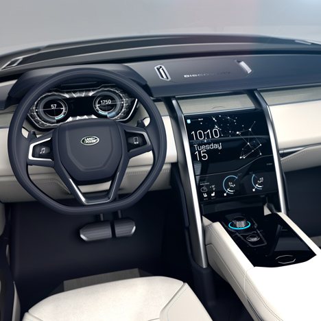 Land Rover developing sight-activated<br /> controls for future vehicles