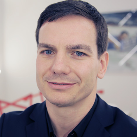 Marc Viardot, Laufen's director of marketing and products