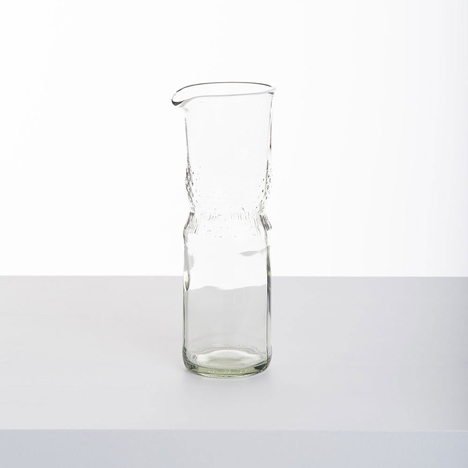 Samesame glassware by Laura Jungmann and Cornelius Réer