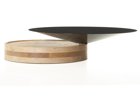 Laurel Coffee Table by Luca Nichetto in ash