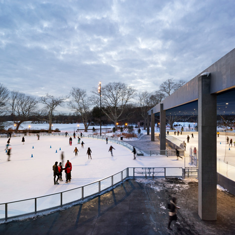 LeFrak Center at Lakeside by Tod Williams Billie Tsien Architects_dezeen__sq