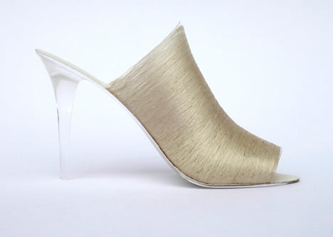 Lei Zu silk shoes by Nicole Goymann and Christoph John