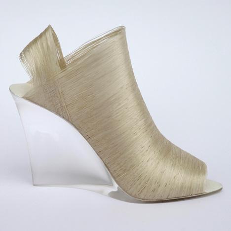 Lei Zu silk shoes by Nicole Goymann and Christoph John
