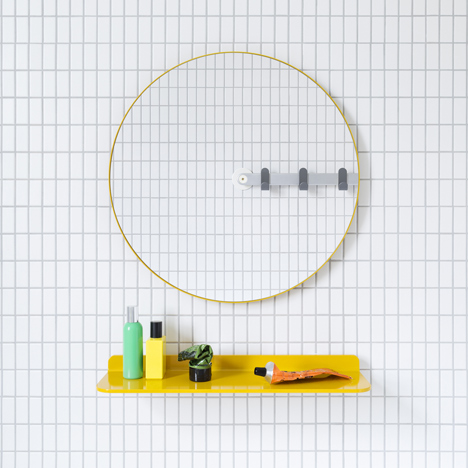 Sabi previews bathroom accessories range by Barber and Osgerby's MAP