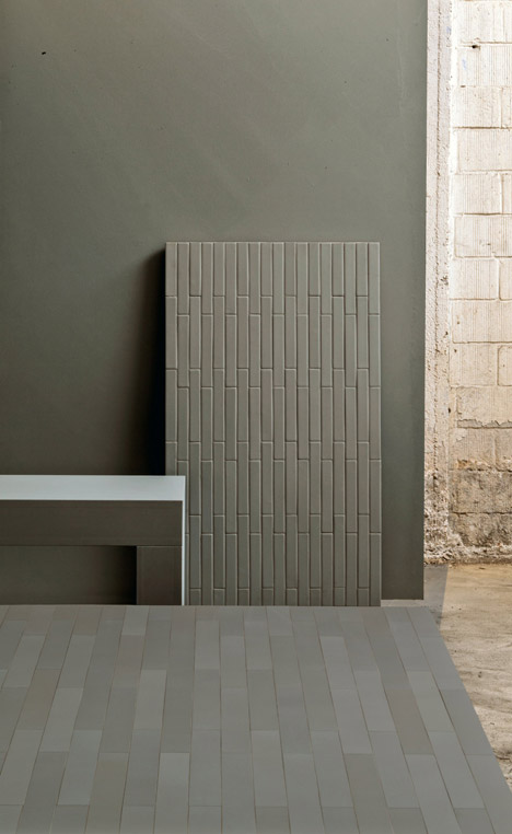 Barber and Osgerby capture textures of urban London for tile range