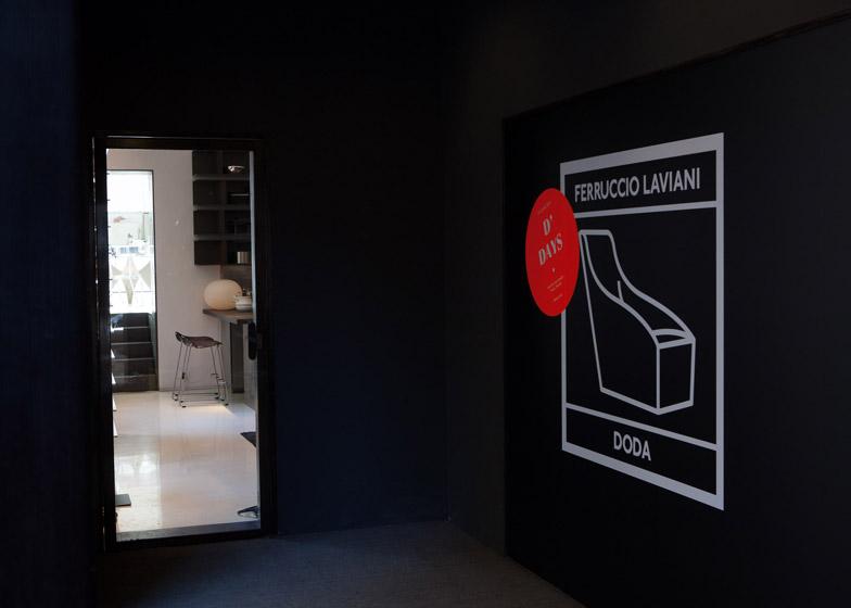 M/B installation at Molteni&C's Paris store