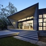 Adam Dettrick's Narrabundah House angles towards view of an old eucalyptus tree