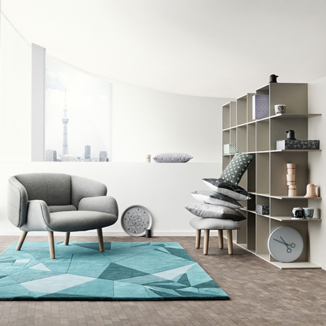 Nendo designs Fusion furniture and homeware collection for BoConcept