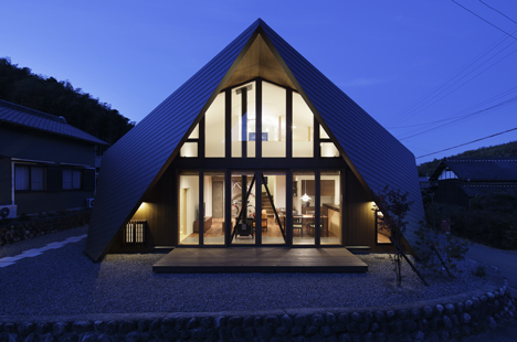 Origami House by TSC Architects in Japan