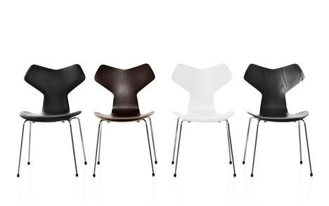 Grand Prix chair Fritz Hansen Arne Jacobsen