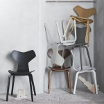 Fritz Hansen reintroduces Arne Jacobsen chair with new wooden legs