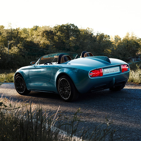MINI and Touring Superleggera unveil open-top concept car