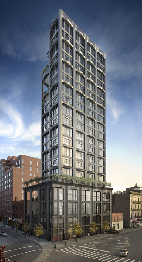 PH1 penthouse with car elevator by MVRDV