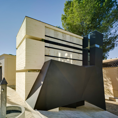 Pantheon in Murcia by Amparo and Andres Martinez Vidal
