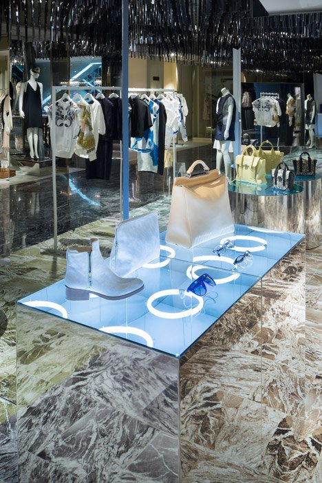 Philip Lim pop up store by Schemata Architects