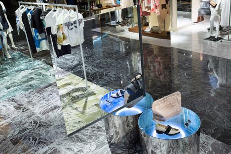 Philip Lim pop up store by Schemata Architects