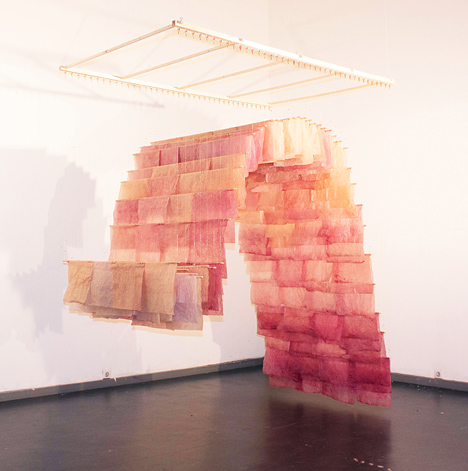 Piet Zwart Institute The Paperscape by Albina Aleksiunaite and Devika Mirawitani