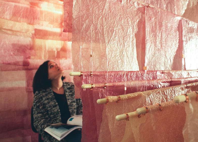 The Paperscape by Albina Aleksiunaite and Devika Mirawitani
