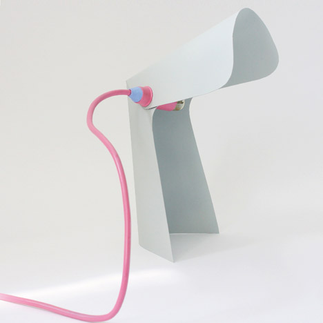 Pli & Co Lamp by Tim Defleur