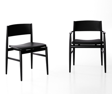 Porro Neve chairs by Piero Lissoni