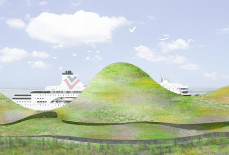 Port of Kinmen Passenger Service Center International_dezeen_1