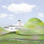"Junya Ishigami envisions ""beautiful mountain range"" for Kinmen ferry terminal"