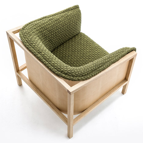 Benjamin Hubert exposes timber frames in Prop furniture collection for Moroso