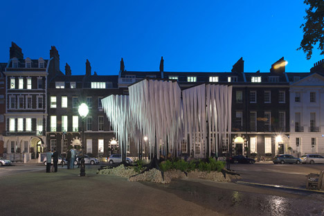 Gun Architects unveils Rainforest pavilion at London's Architectural Association