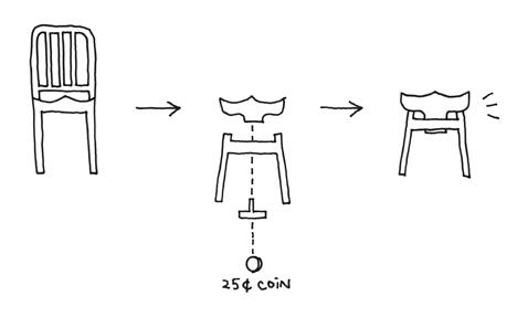 SU stool by Nendo for Emeco