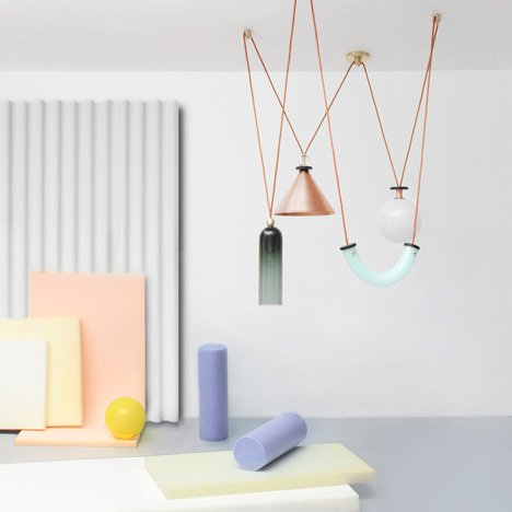 Shapeup lamps by Ladies and Gentleman Studio – Postmodernism revival