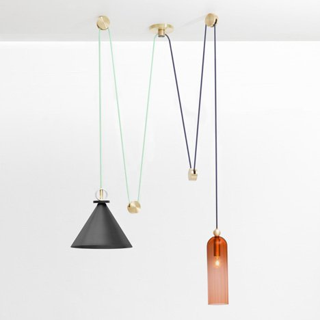 Shapeup lamps by Ladies and Gentleman Studio
