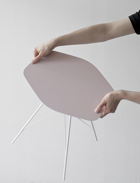 Side tables by Frank Rettenbacher for Zanotta