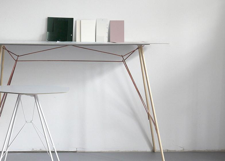 Zanotta launches shelves on legs by frank rettenbacher dezeen magazine greentooth Gallery