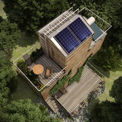 Skit Micro House by Dachi Papuashvili
