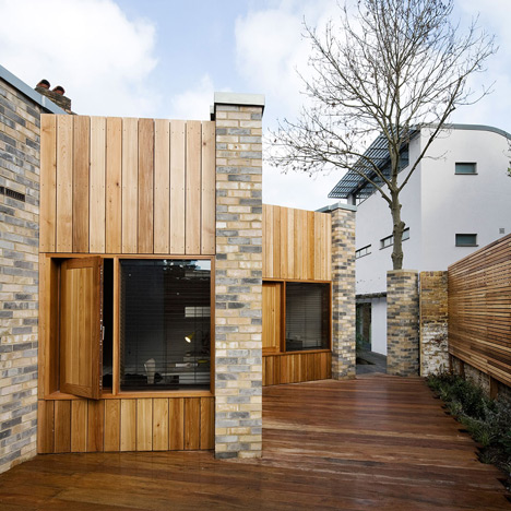 Studio 54 Architecture slots a small home between two London building