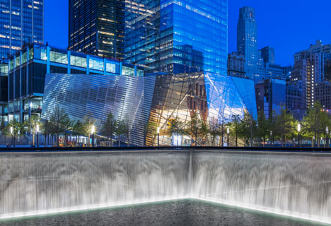 Snohetta pavilion World Trade Center Memorial site