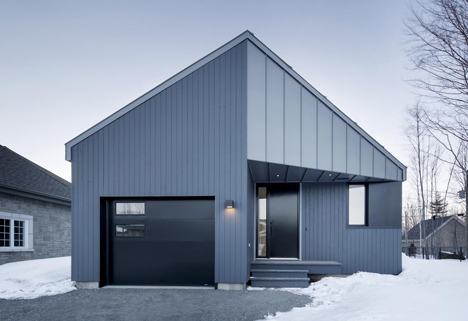 Sorel House in Canada by Naturehumaine