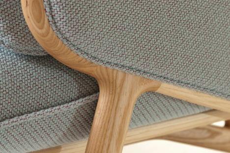 Stanley Sofa by Luca Nichetto detail
