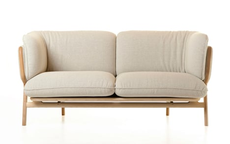 Stanley Sofa by Luca Nichetto front