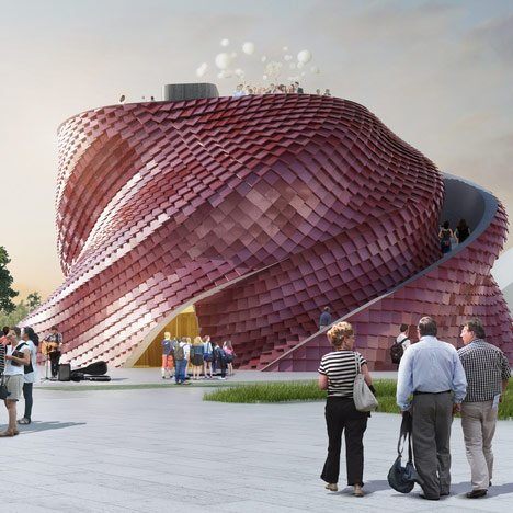 Daniel Libeskind designs Milan Expo pavilion for Chinese developer Vanke