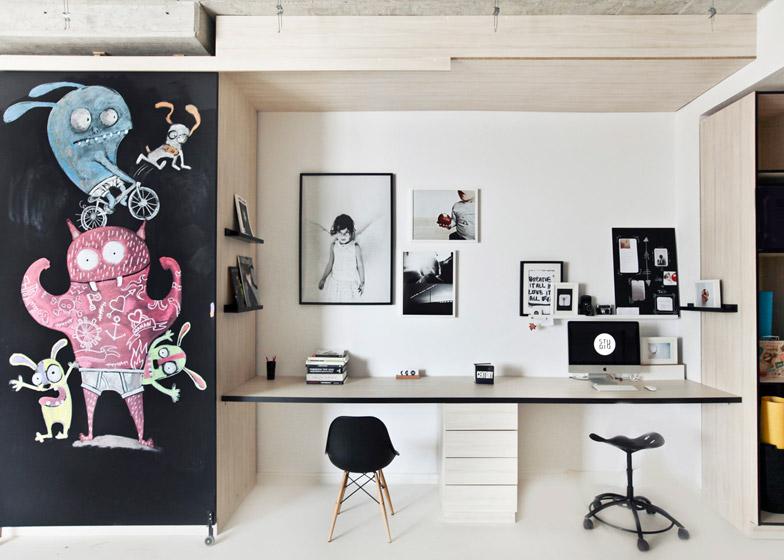 photography studio by input creative studio features a playhouse rh dezeen com Design Studio Atelier photography studio interior design ideas